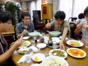 長崎中華街でちゃんぽんを食す。